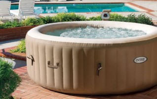 The Popular Intex Inflatable Hot Tub